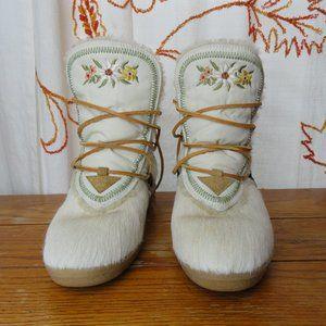 Vintage Tecnica Snow Boots Size 8